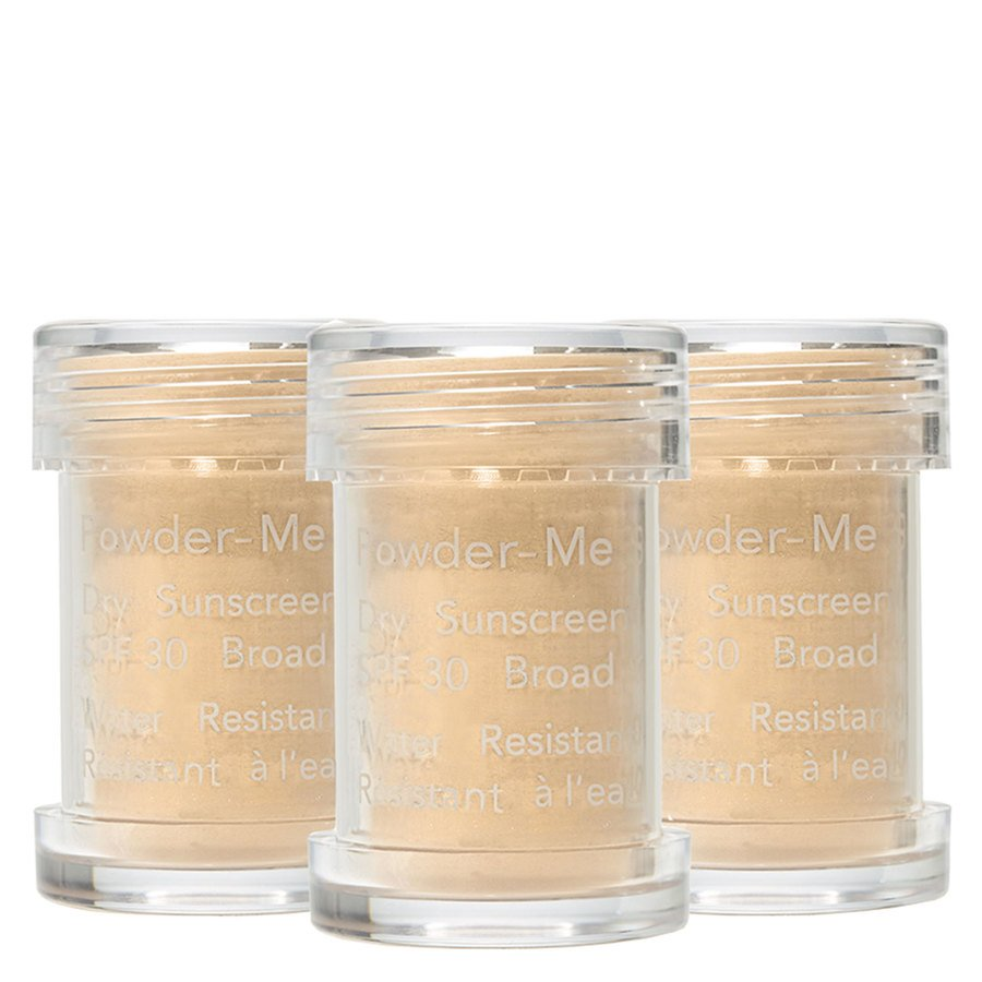 Jane Iredale Powder-Me SPF30 Dry Sunscreen Refill Tanned, 3 x 2,5g