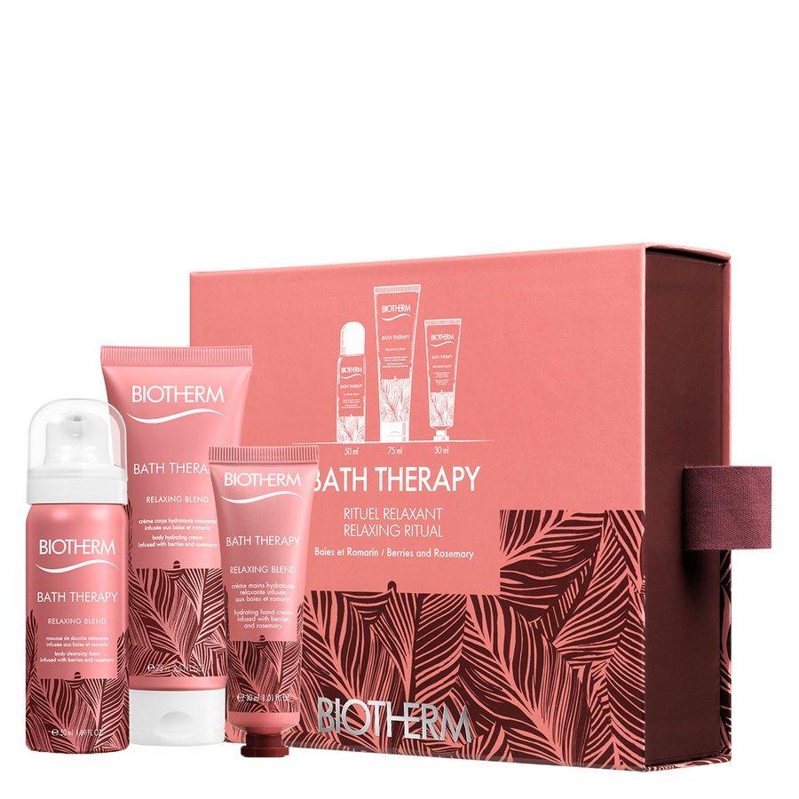 Biotherm Geschenkset Bath Therapy Relaxing Blend Starter Set 155ml