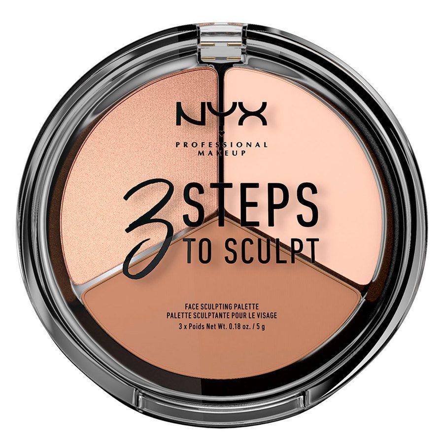 NYX Professional Makeup 3 Steps To Sculpt Fair 5g