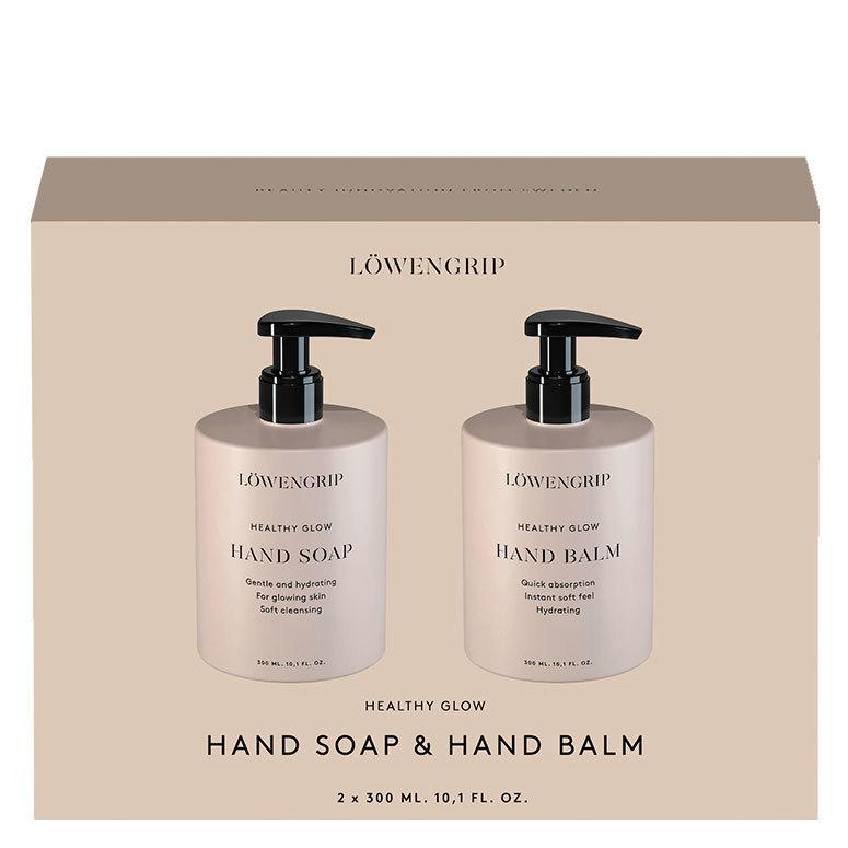 Löwengrip Healthy Glow Hand Soap & Hand Balm 300 + 300ml
