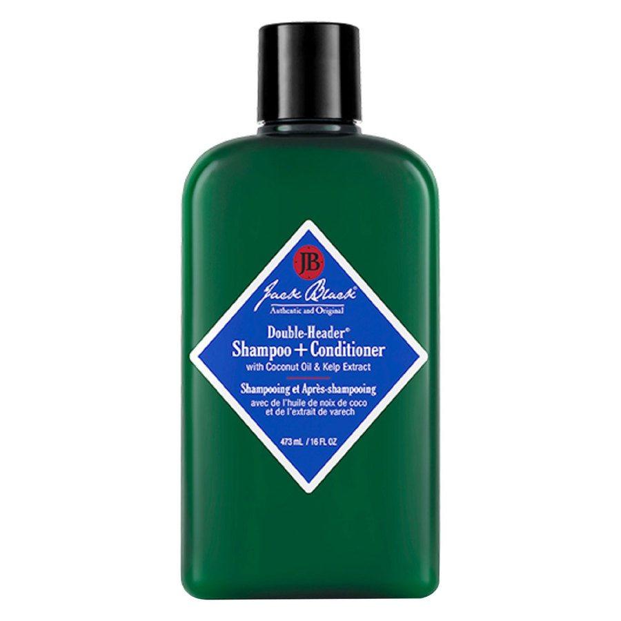 Jack Black Double-Header Shampoo + Conditioner 473 ml