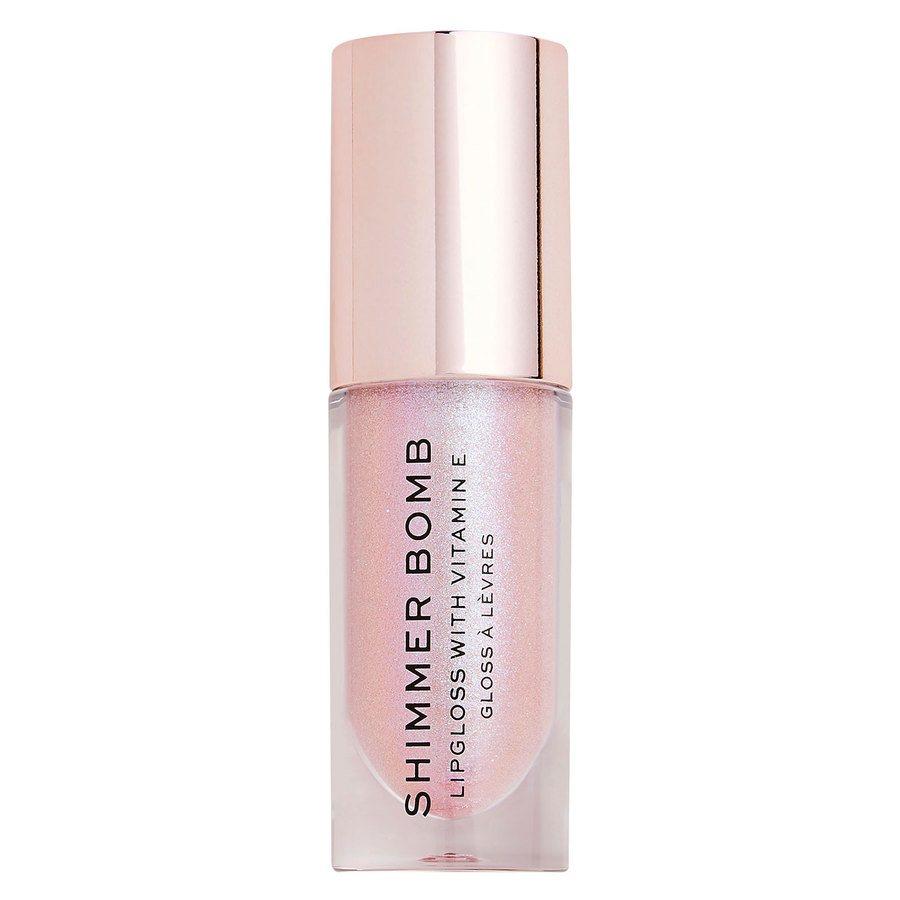 Makeup Revolution Shimmer Bomb Lip Gloss, Sparkle (4,5ml)