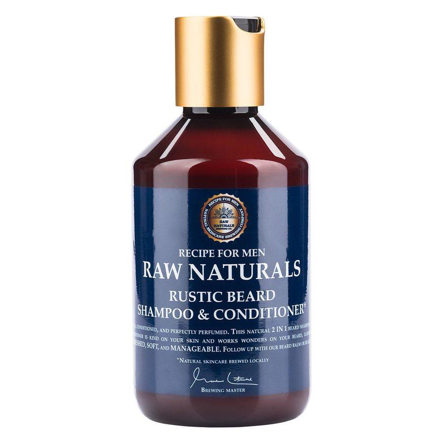 Raw Naturals Rustic Beard Shampoo & Conditioner (250ml)