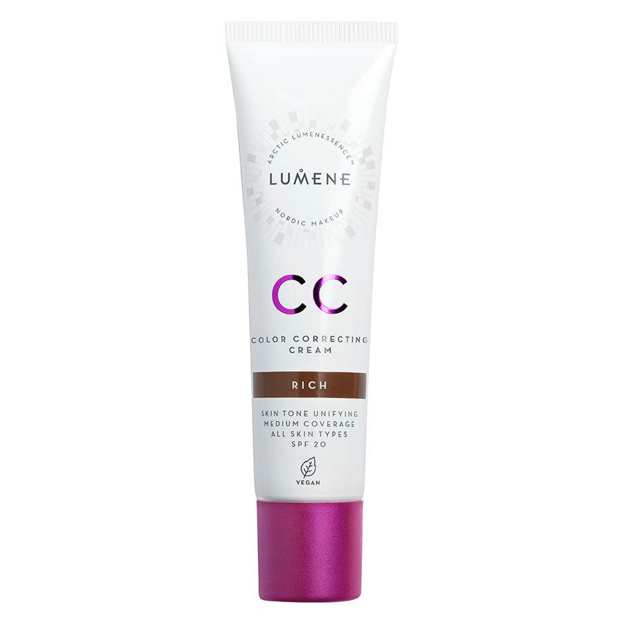 Lumene CC Color Correcting Cream SPF20, Rich 30 ml