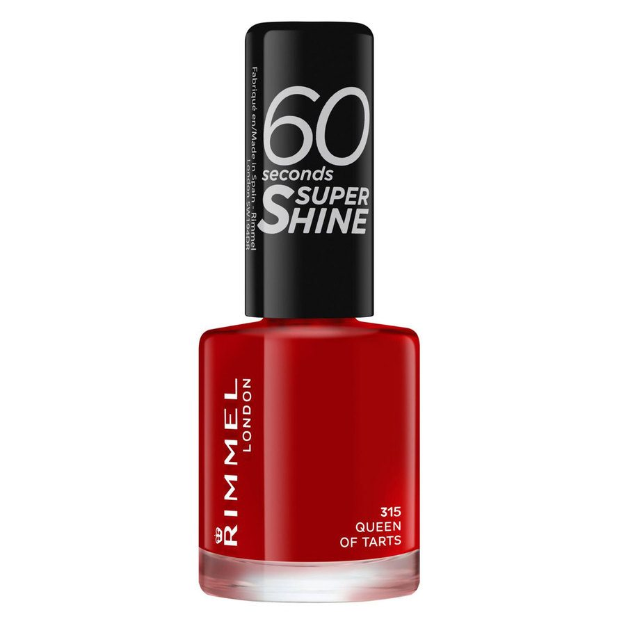 Rimmel London 60 Seconds Super Shine Nail Polish, # 315 Queen Of Tarts (8 ml)