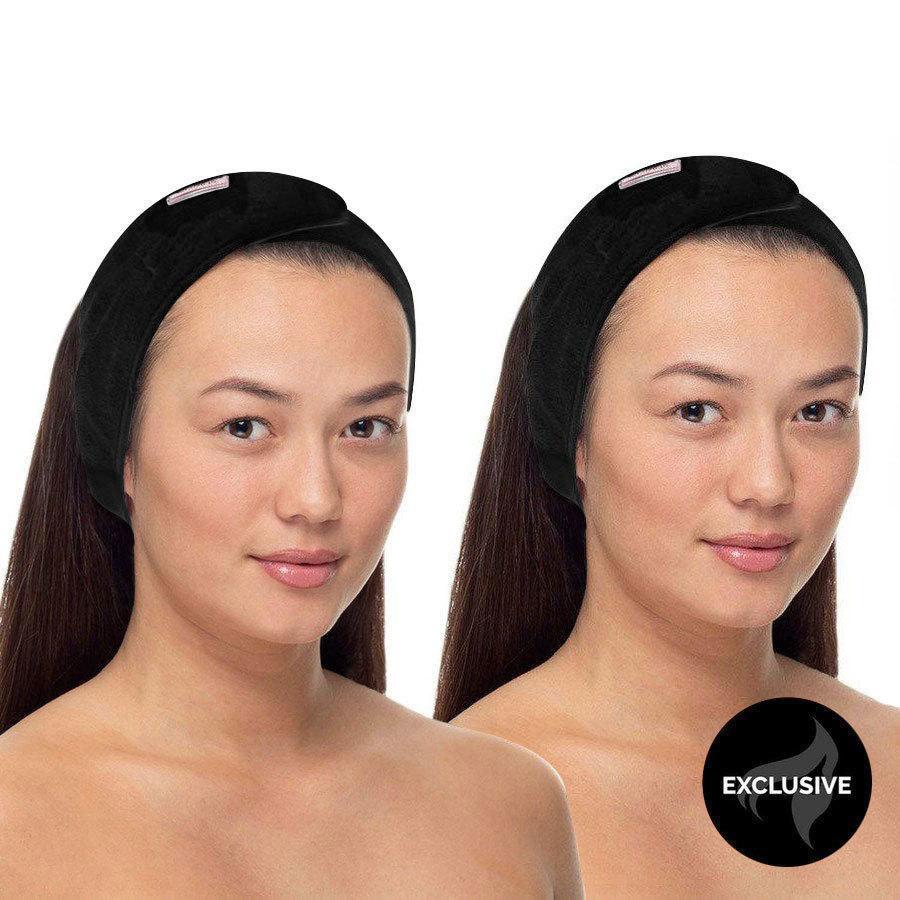 Headband Black 2 Stück