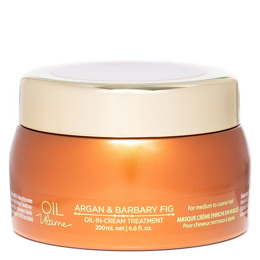 Schwarzkopf Oil Ultime Argan & Barbary Fig Oil-In Cream Treatment (200 ml)