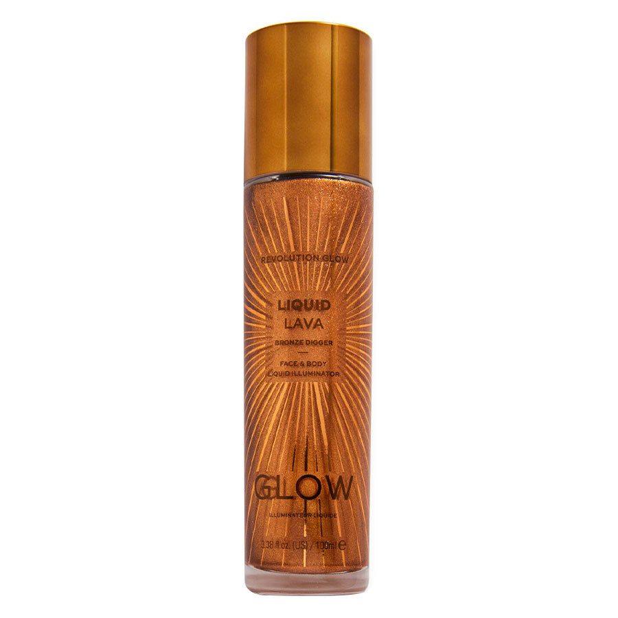 Makeup Revolution Glow Liquid Lava Bronze Digger 100ml