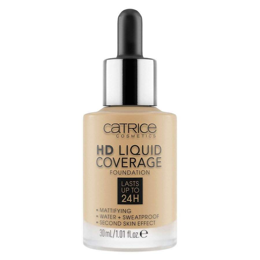 Catrice HD Liquid Coverage Foundation, 034 Medium Beige 30 ml