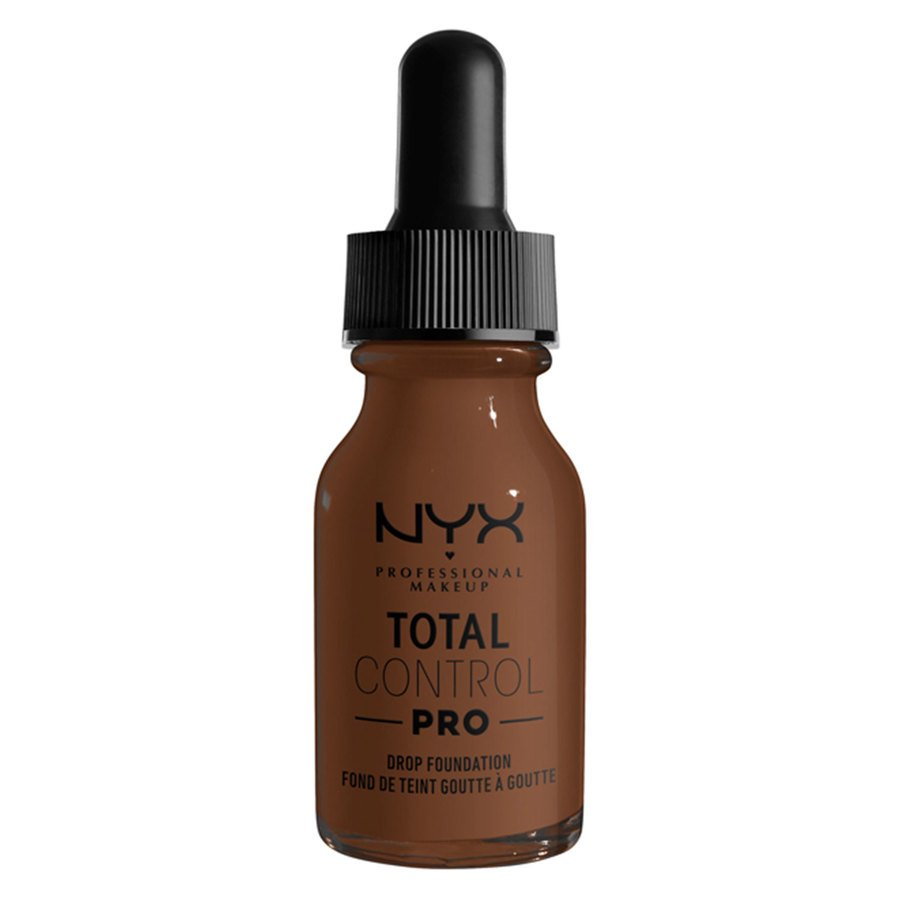 NYX Professional Makeup Total Control Pro Drop Foundation, Deep Rich 13 ml