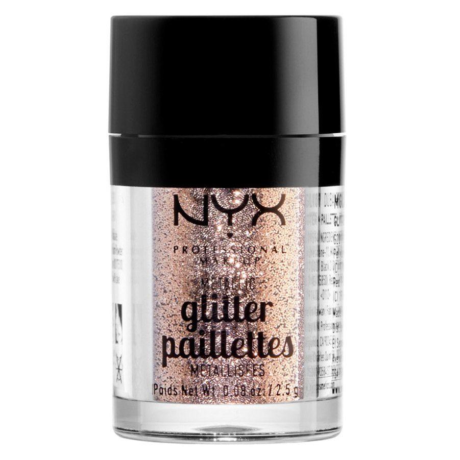 NYX Professional Makeup Metallic Glitter, Goldstone