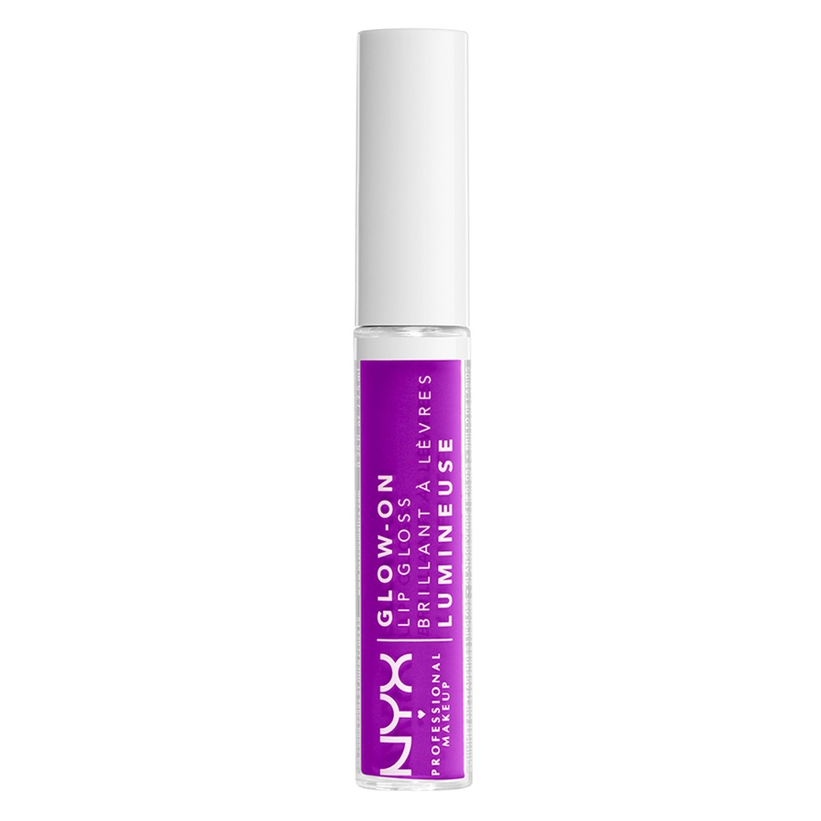 NYX Professional Makeup Glow-On Lip Gloss, Lilac Vibes (7,5ml)