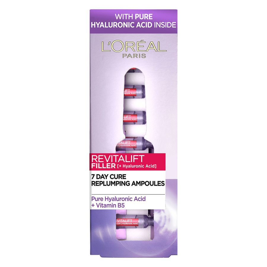 L'Oréal Paris Revitalift Filler Vials Hyaluronic Acid (7x1,3 ml)