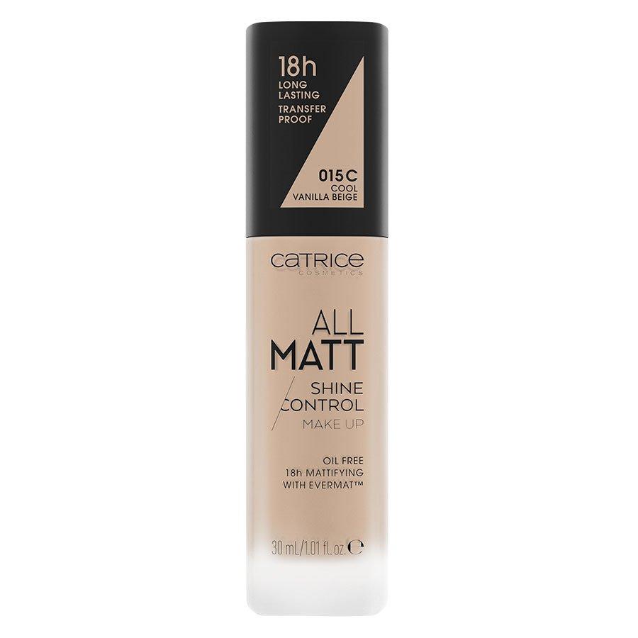 Catrice All Matt Shine Control Make Up, 015 C Cool Vanilla Beige 30ml