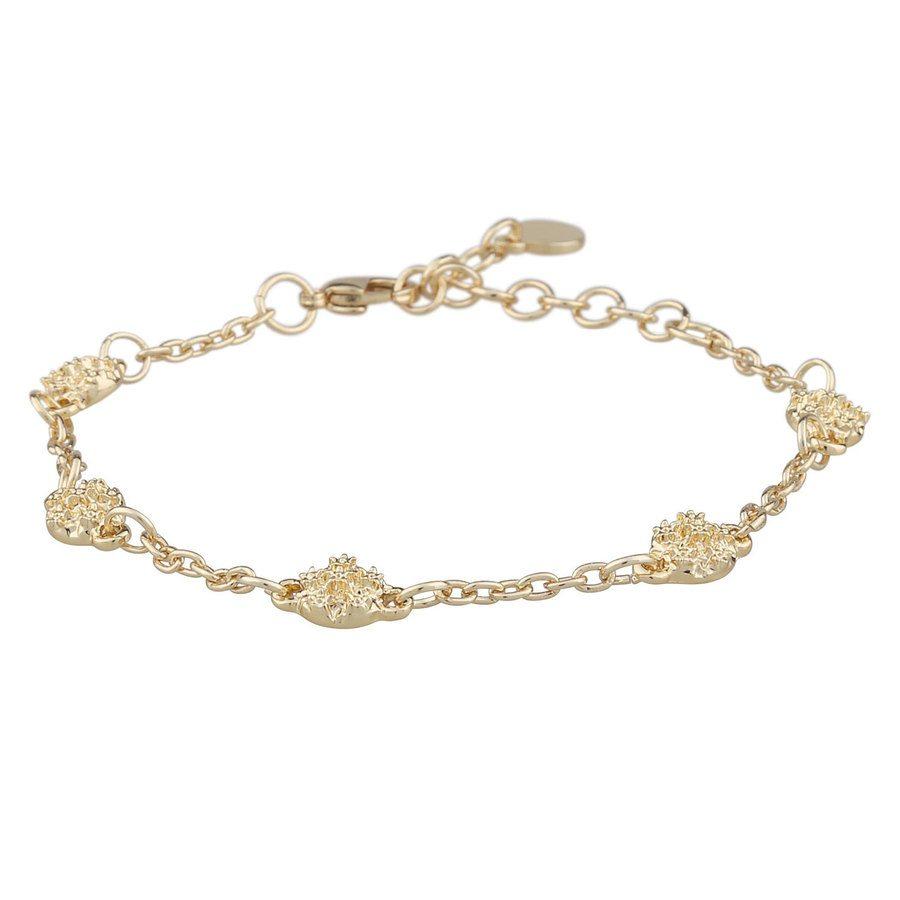 Snö Of Sweden Light Chain Bracelet, Plain (16-17 cm)