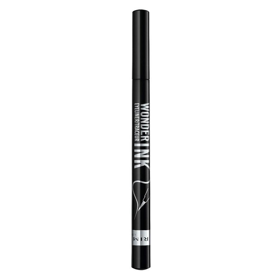 Rimmel London Wonder'Ink Liquid Eye Liner, Black (1,2 ml)