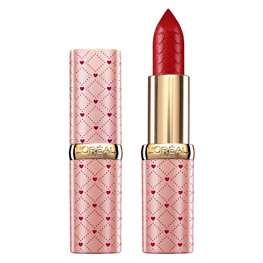 L'Oréal Paris Color Riche Satin Valentine Limited Edition, 297 Red Passion