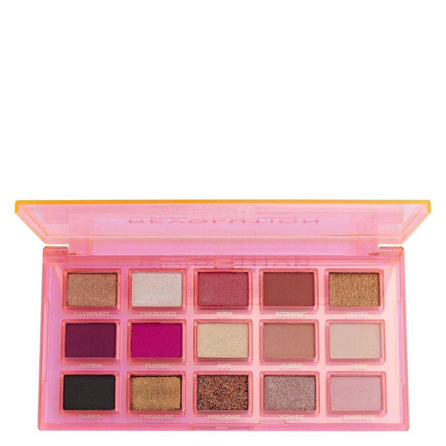 Revolution Beauty Makeup Revolution Reflective Eye Shadow Palettem Sugar Ray 15 x 0,75 g