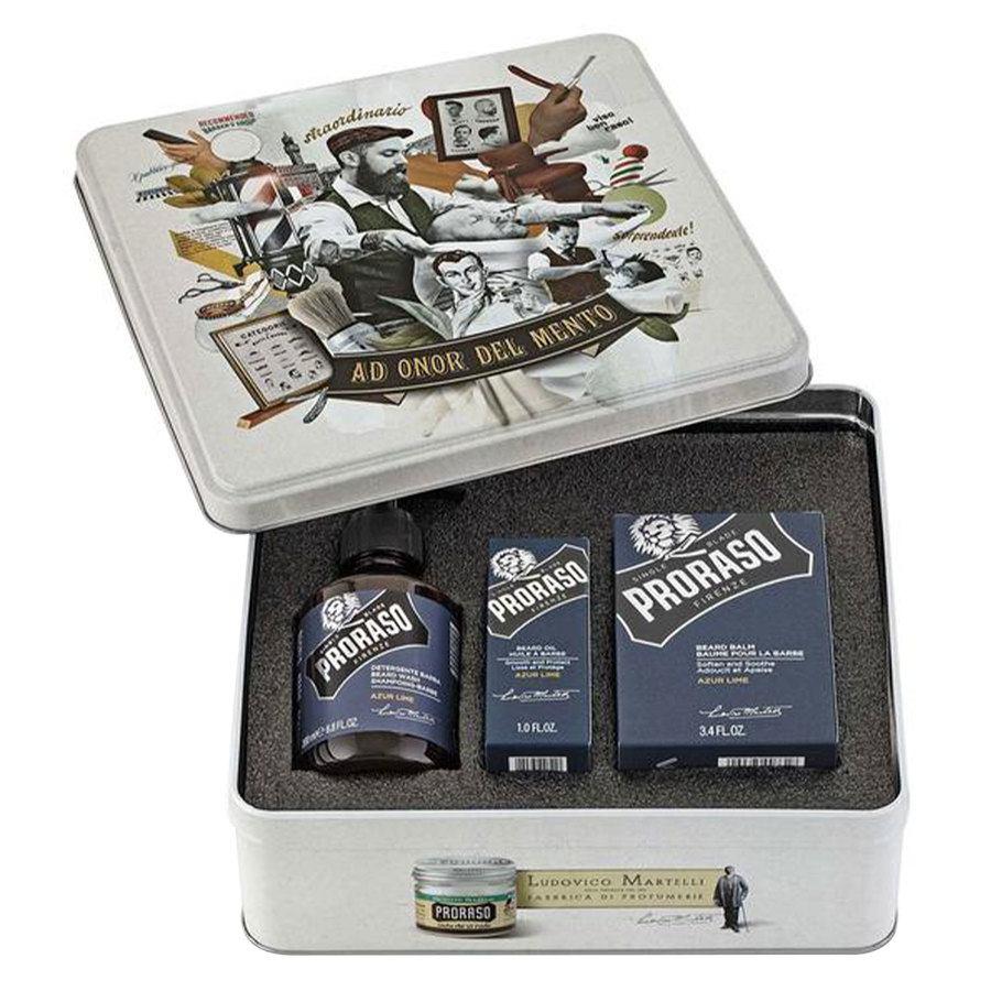 Proraso Azur Lime Beard Kit