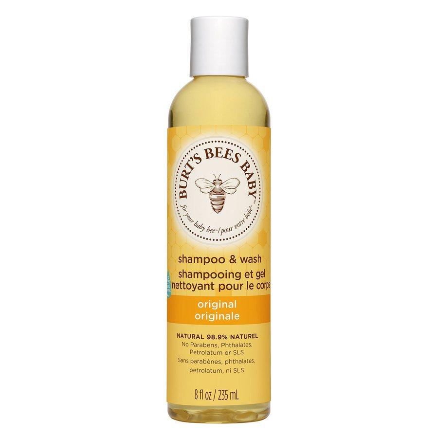 Burt`s Bees Baby Bee Shampoo & Body Wash (235ml)