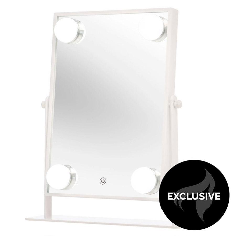 Shelas 4 Led Hollywood Mirror (181 x 285 mm), White