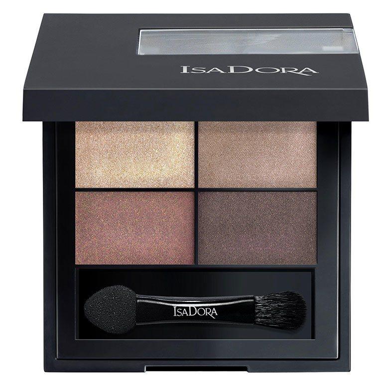 IsaDora Eyeshadow Quartet, 10 Boho Browns 3,5g