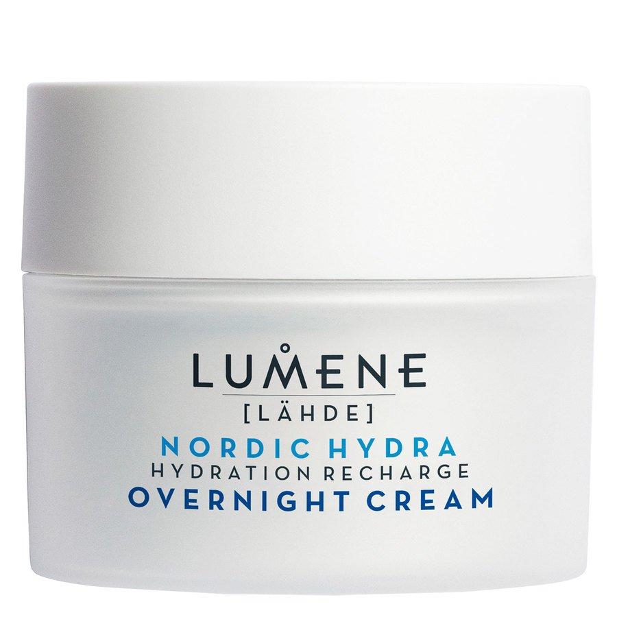 Lumene LÄHDE Hydration Recharge Overnight Cream 50ml