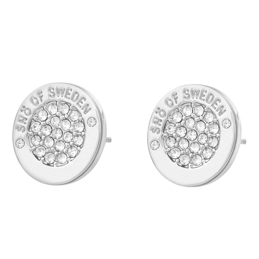 Snö Of Sweden Luna Earring Silver / Clear