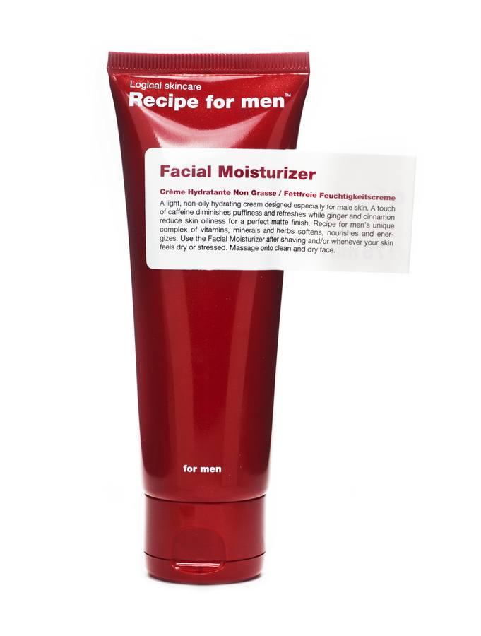 Recipe For Men Facial Moisturizer Feuchtigkeitscreme (75 ml)
