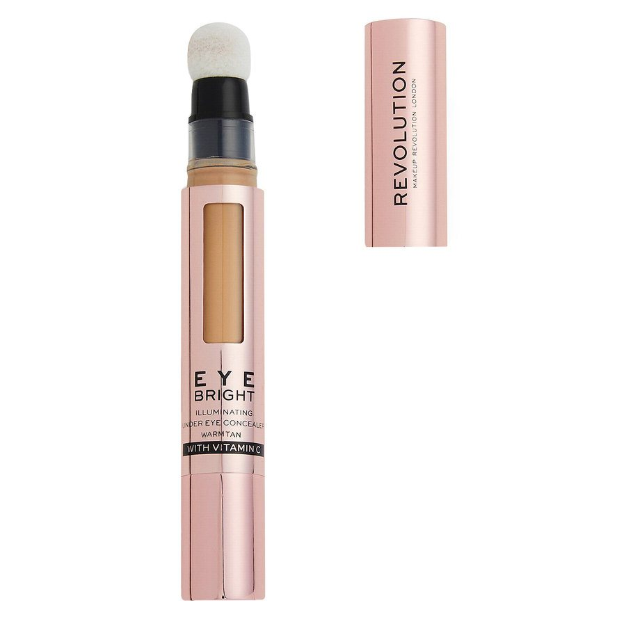 Revolution Beauty Makeup Revolution Eye Bright Illuminating Under Eye Concealer, Warm Tan 2,9ml