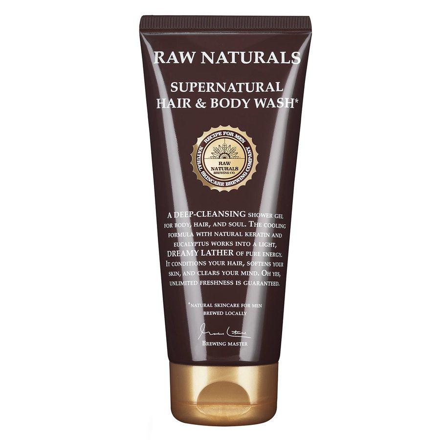 Raw Naturals Supernatural Hair & Body Wash (200ml)