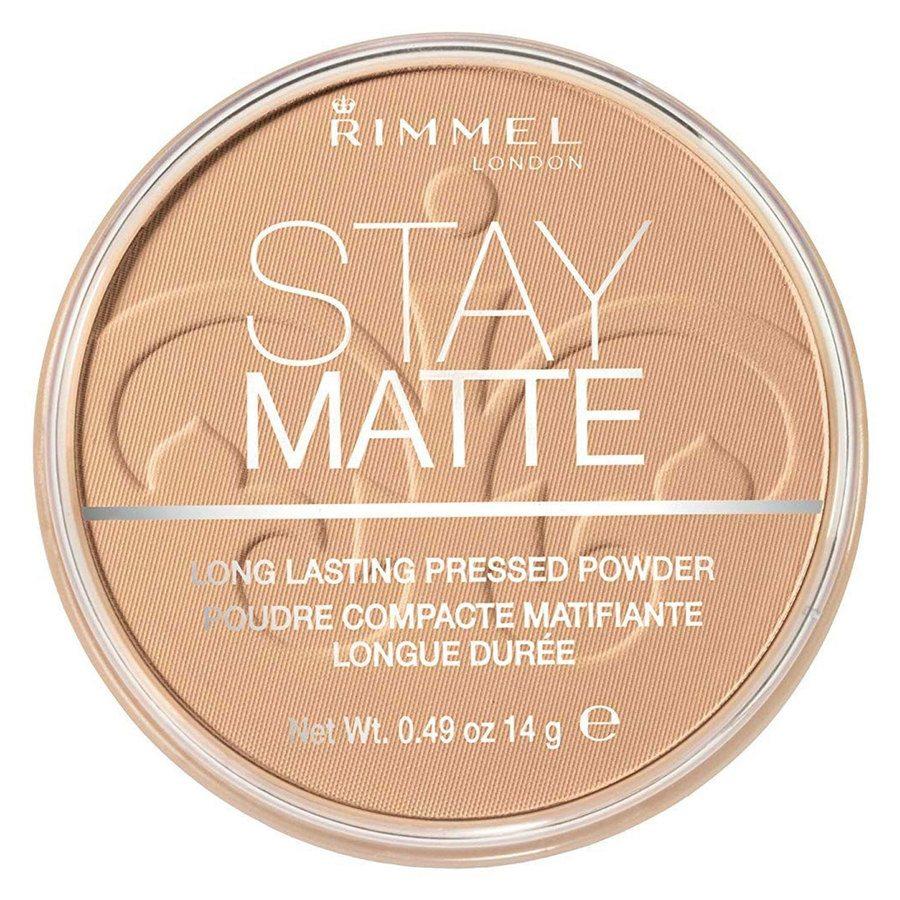 Rimmel Stay Matte Pressed Face Powder, Warm Honey 010 (14 g)