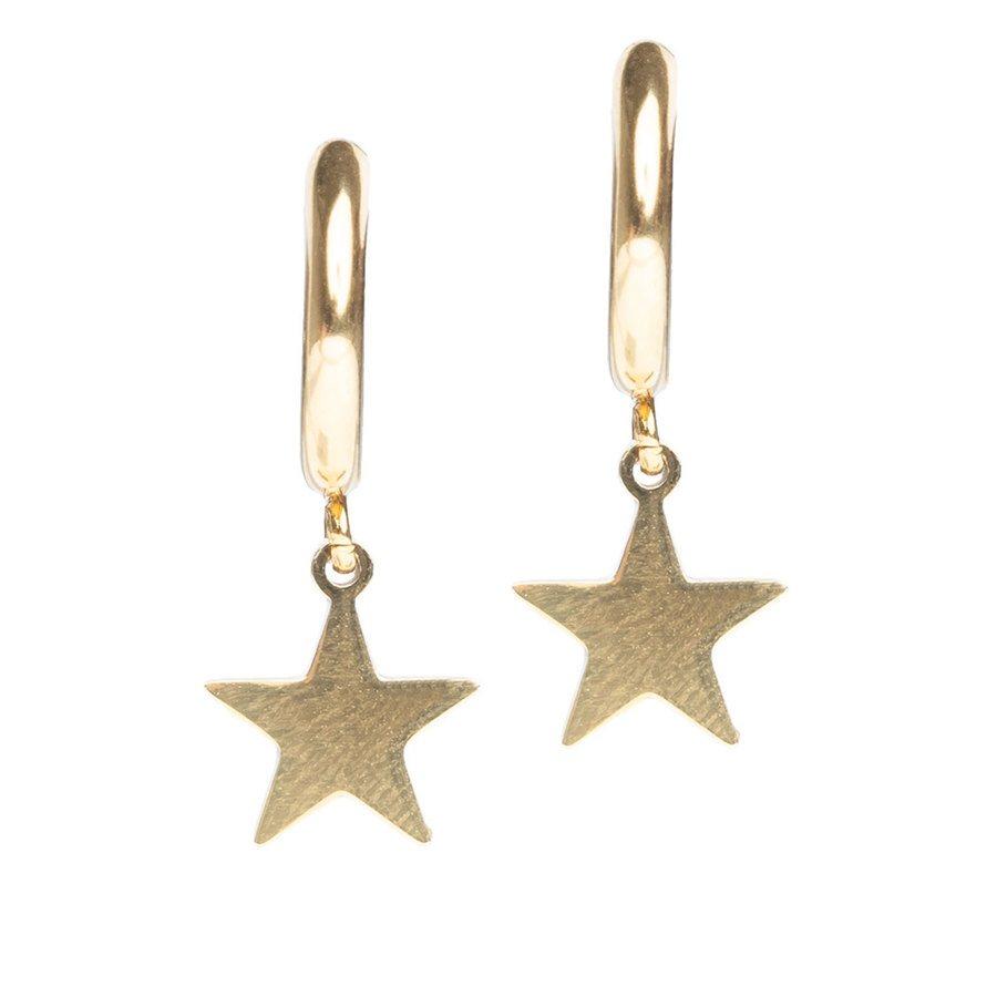 DARK Star Hoop Gold