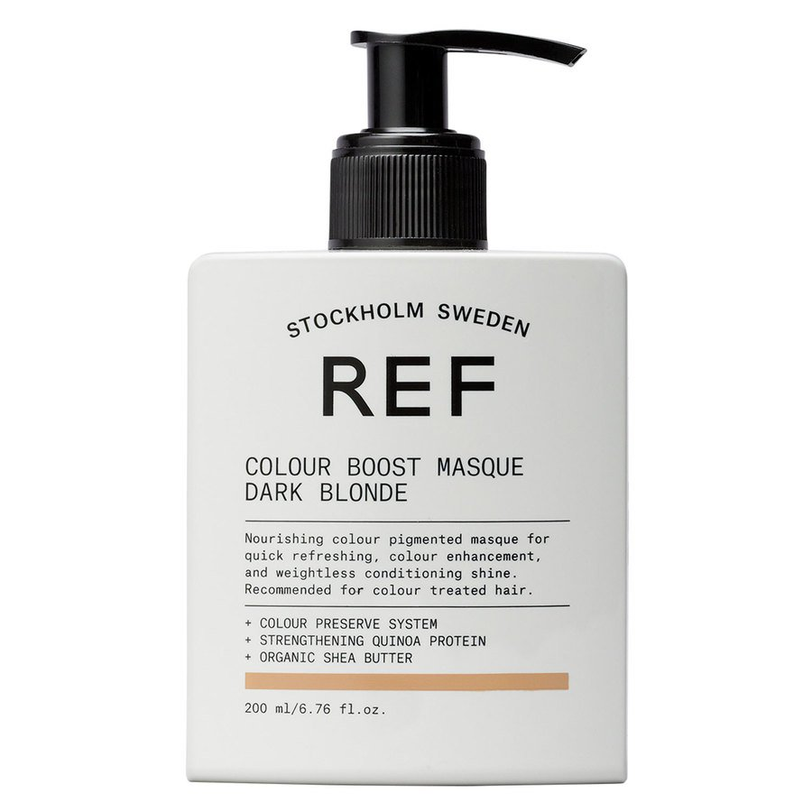 REF Colour Boost Masque, Dark Blonde (200 ml)