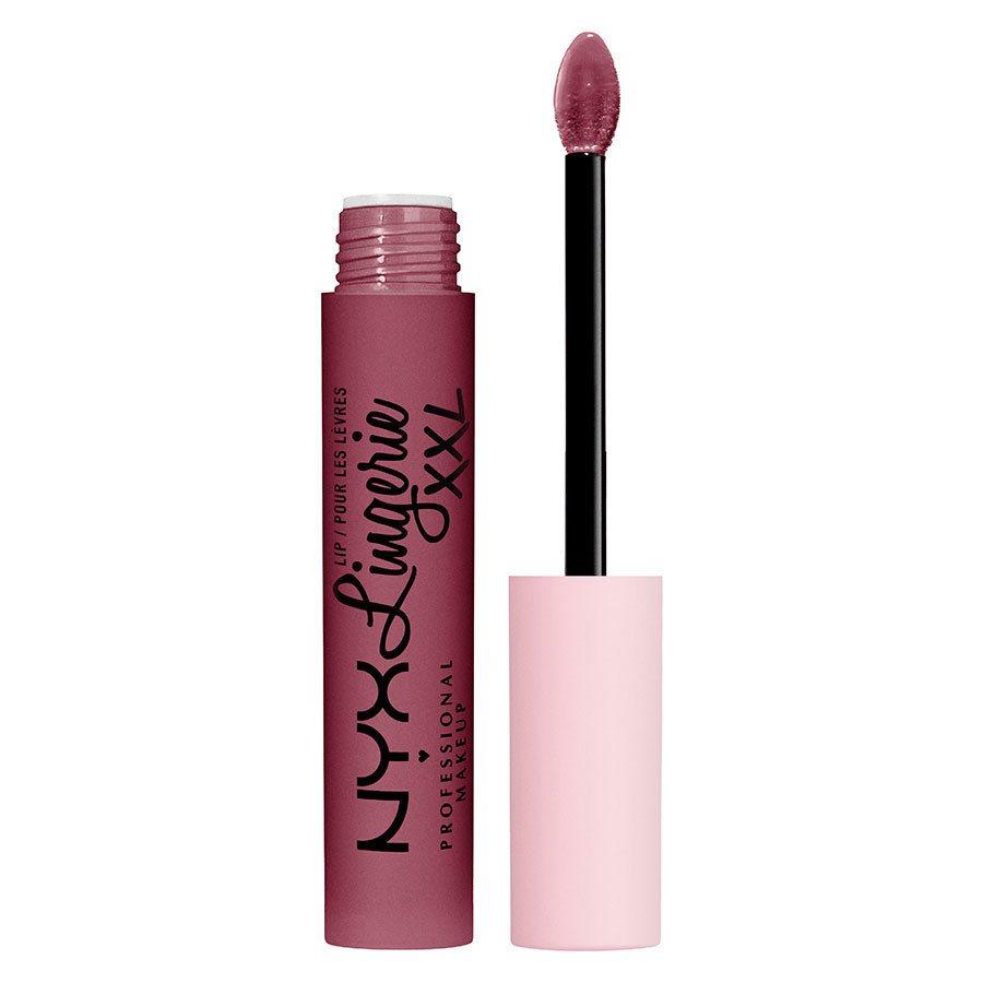NYX Professional Makeup Lip Lingerie XXL Matte Liquid Lipstick, Bust-ed 4ml