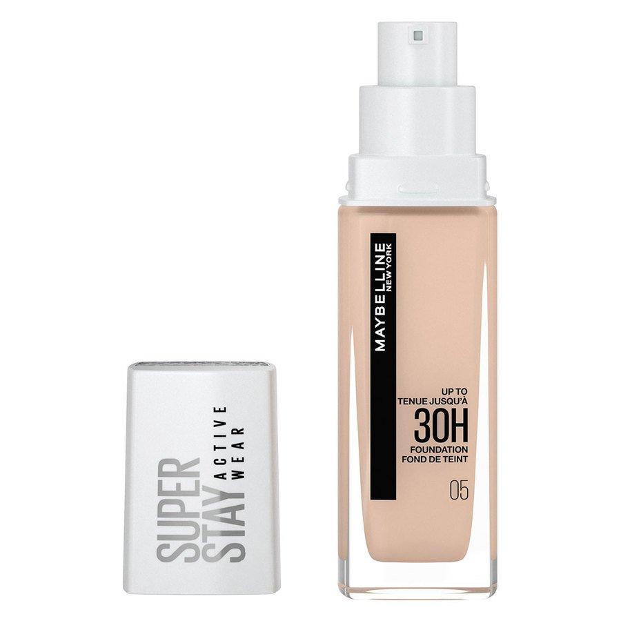 Maybelline 30H Superstay Active Wear Foundation, Light Beige 30 ml