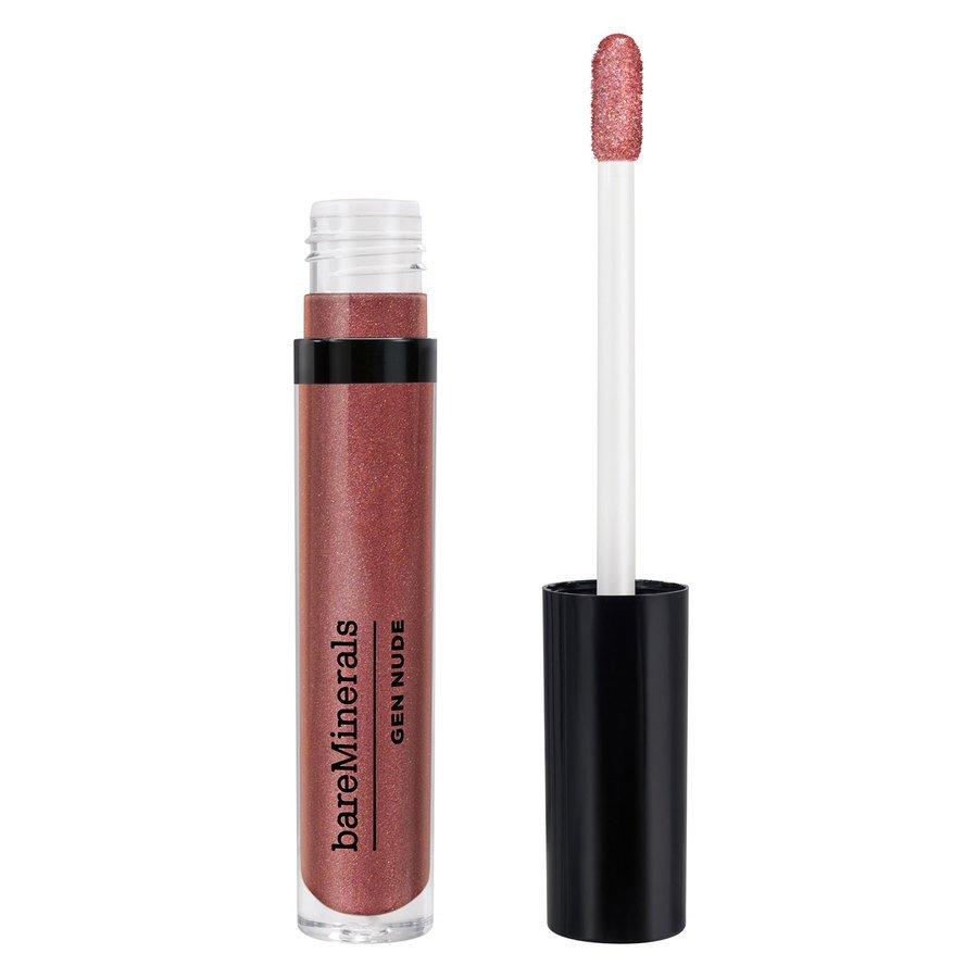 bareMinerals Gen Nude Metallic Patent Lip Lacquer Rose Quartz