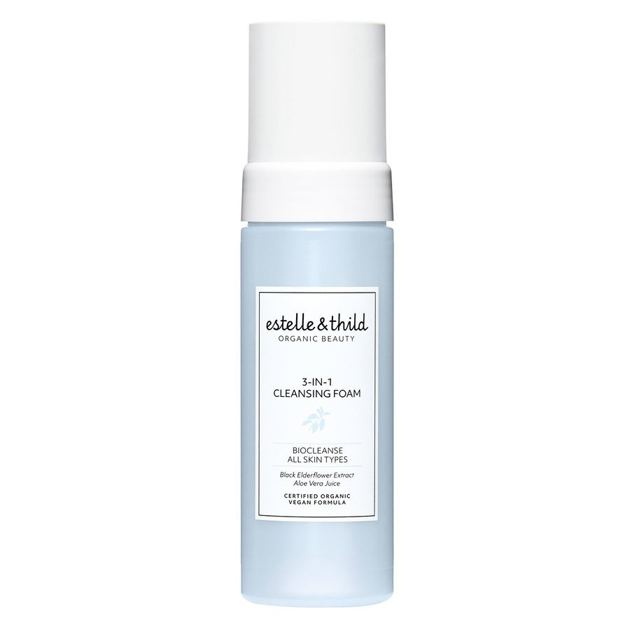 Estelle & Thild BioCleanse 3-In-1 Cleansing Foam (150 ml)