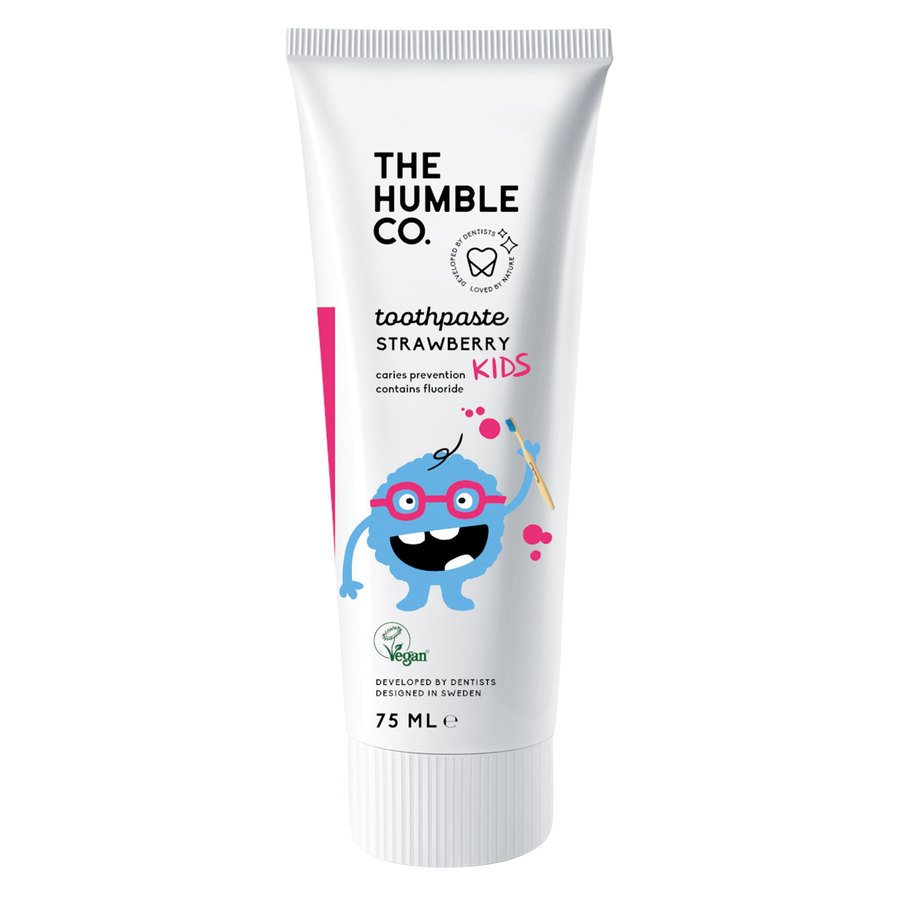 The Humble Co Humble Natural Toothpaste Kids, Strawberry 75ml