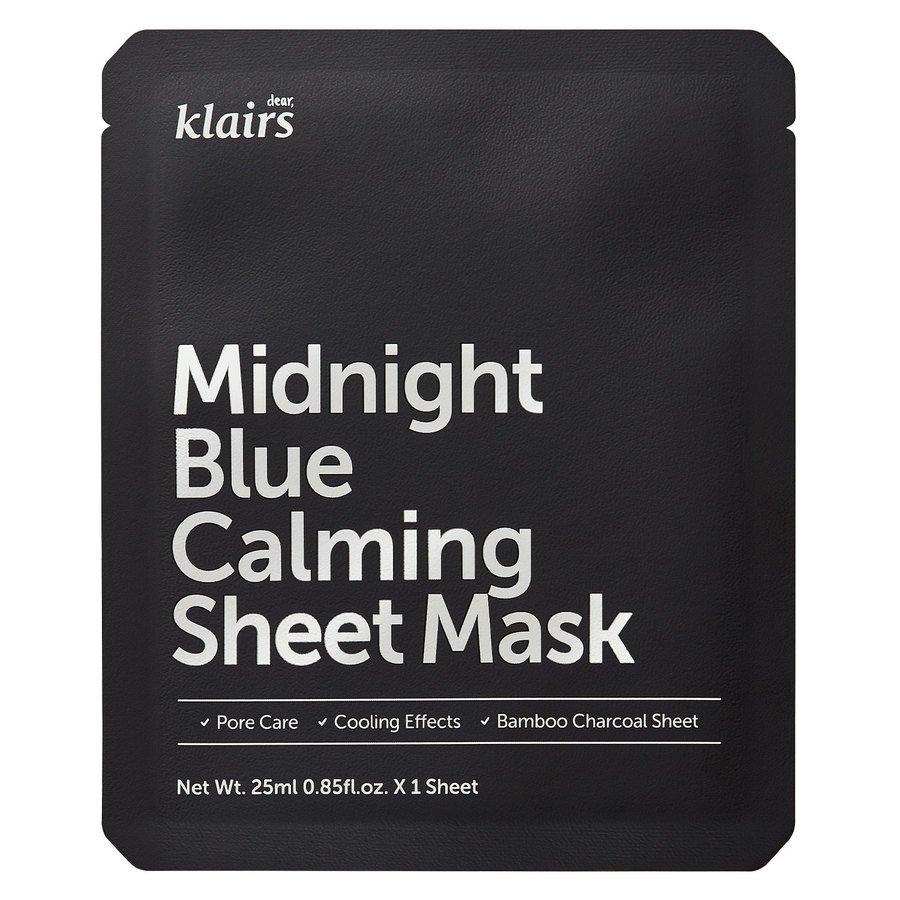 Klairs Midnight Blue Calming Sheet Mask (25ml)