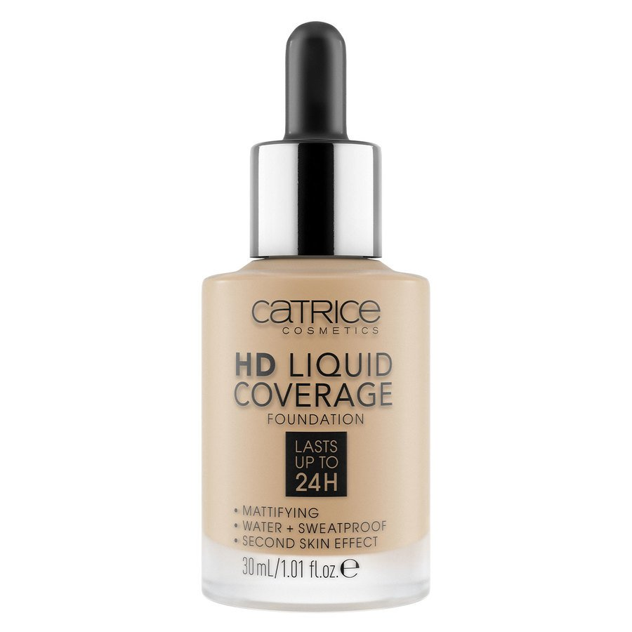 Catrice HD Liquid Coverage Foundation, 044 Deeply Rose 30 ml