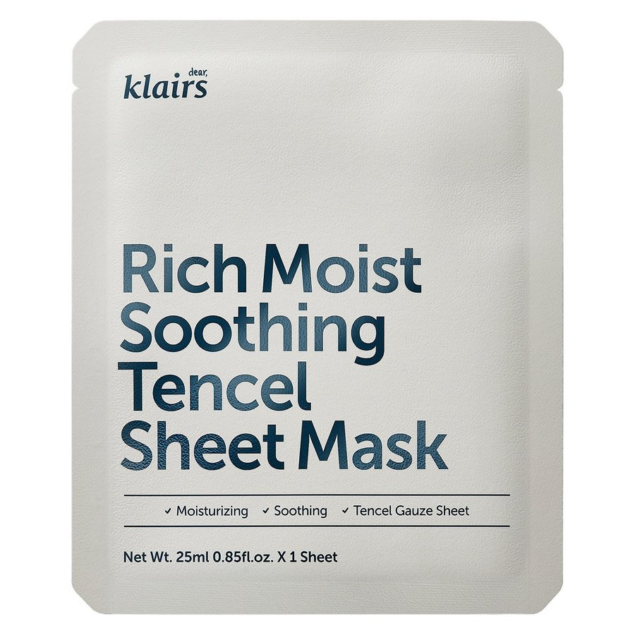Klairs Rich Moist Soothing Tencel Sheet Mask (25 ml)