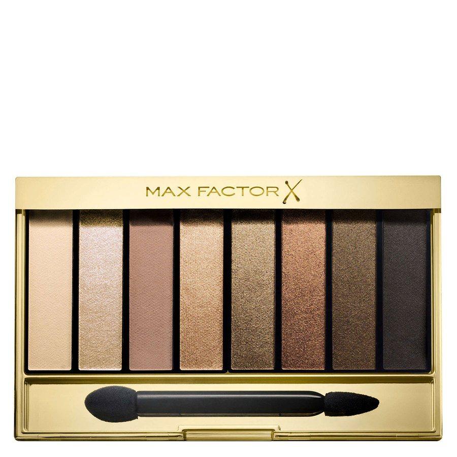 Max Factor Masterpiece Nude Palette Contouring Eye Shadows, #02 Golden Nudes