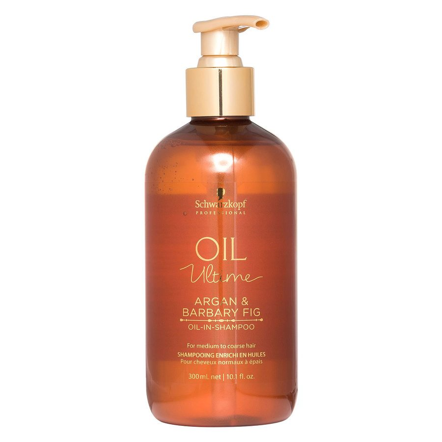 Schwarzkopf Oil Ultime Argan & Barbary Fig Oil-In-Shampoo (300 ml)