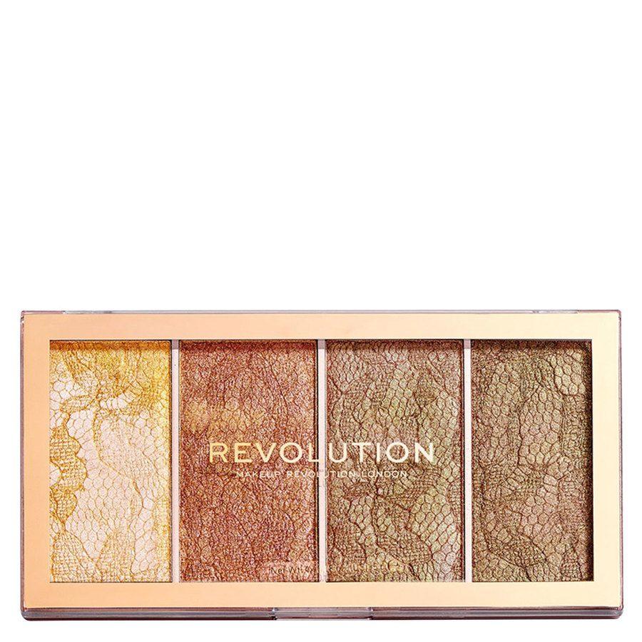 Makeup Revolution Vintage Lace Highlighter Palette