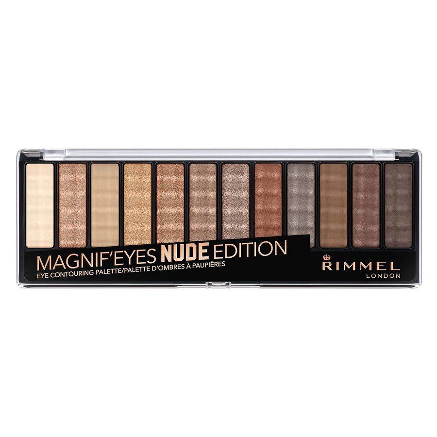 Rimmel London Magnif'eyes Eye Palette, Nude Edition (14g)