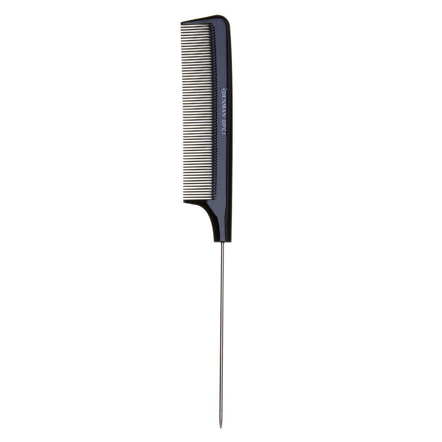 Denman DPC1 Pin Tail Comb, Black