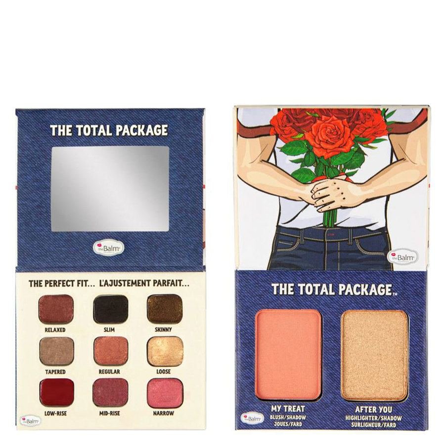 TheBalm The Total Package, Denim Boyfriend Material Palette