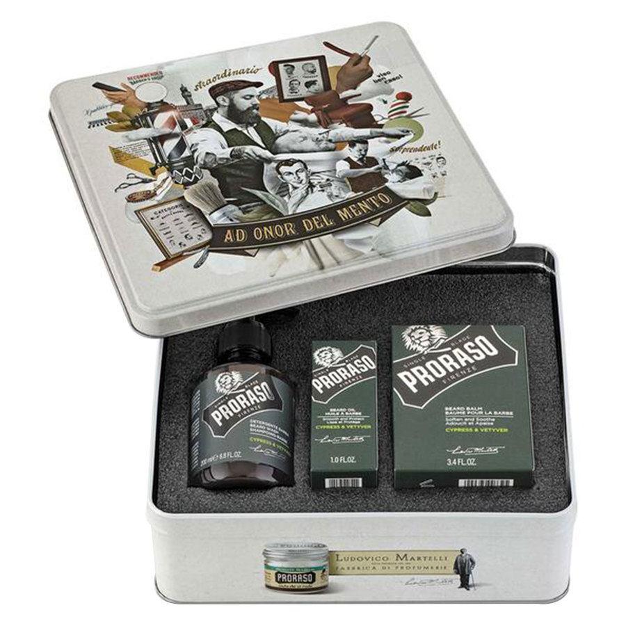 Proraso Beard Kit, Cypress & Vetyver