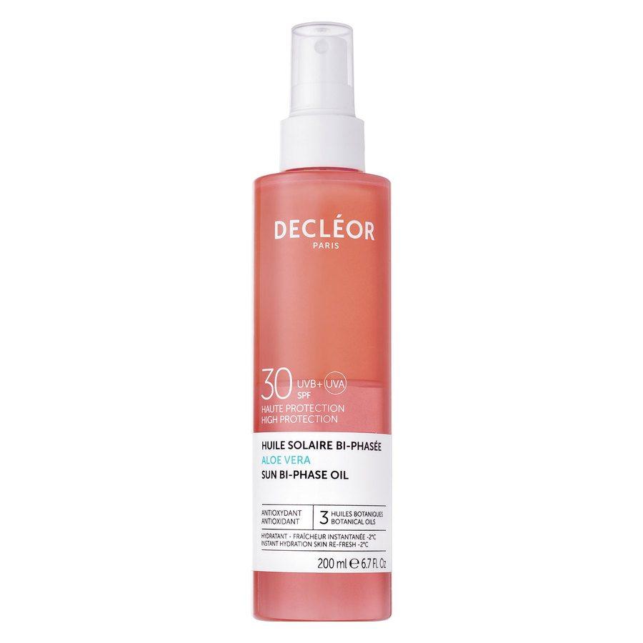 Decléor Aloe Vera Sun Bi-Phase Oil SPF30 (200ml)